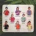 NZSL Sign Language Colours Handmade Wooden Puzzle