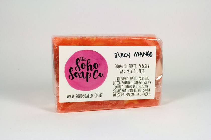 Juicy Mango Soap