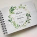 GUEST BOOK, ALBUM - A5 - FOREST WREATH - customise your details!