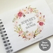 BABY SHOWER GUEST BOOK, ALBUM - A5 - BABY BLUSH WREATH