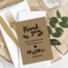 Meal Thank You Cards x 10