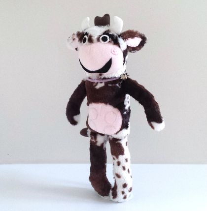 Handmade One of a Kind Cow Doll named Bessie