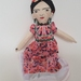 Cloth  Display Doll Inspired by Frida Kahlo