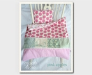 """Pink Apples"" Doll Bedding Set"