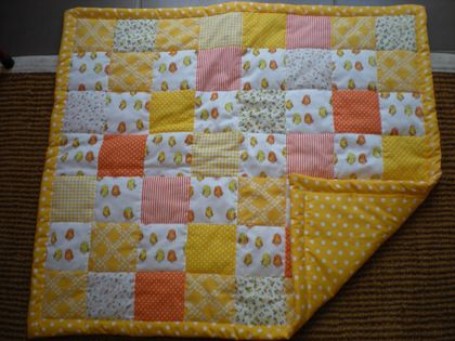 NEW ZEALAND MADE BABY QUILT