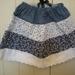 girls three tiered skirts