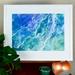 """FRAMED Giclee print of Original Fibre Art """"Ocean Swell"""" - A3"""