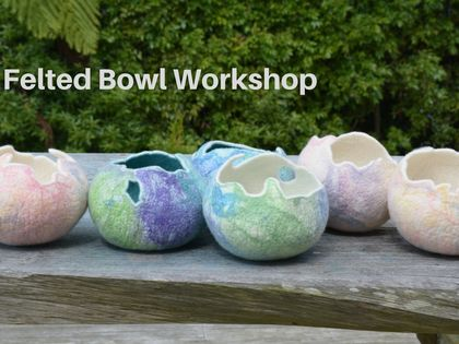 Felting Workshop - Felt your own bowl