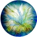 """Lily 3"" Giclée fine art print of Original Fibre Art"