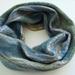 "Single Loop Scarf made with NZ Merino,Alpaca and silk fibres ""Paua"""