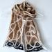 Alpaca/ Merino & Silk felted Scarf