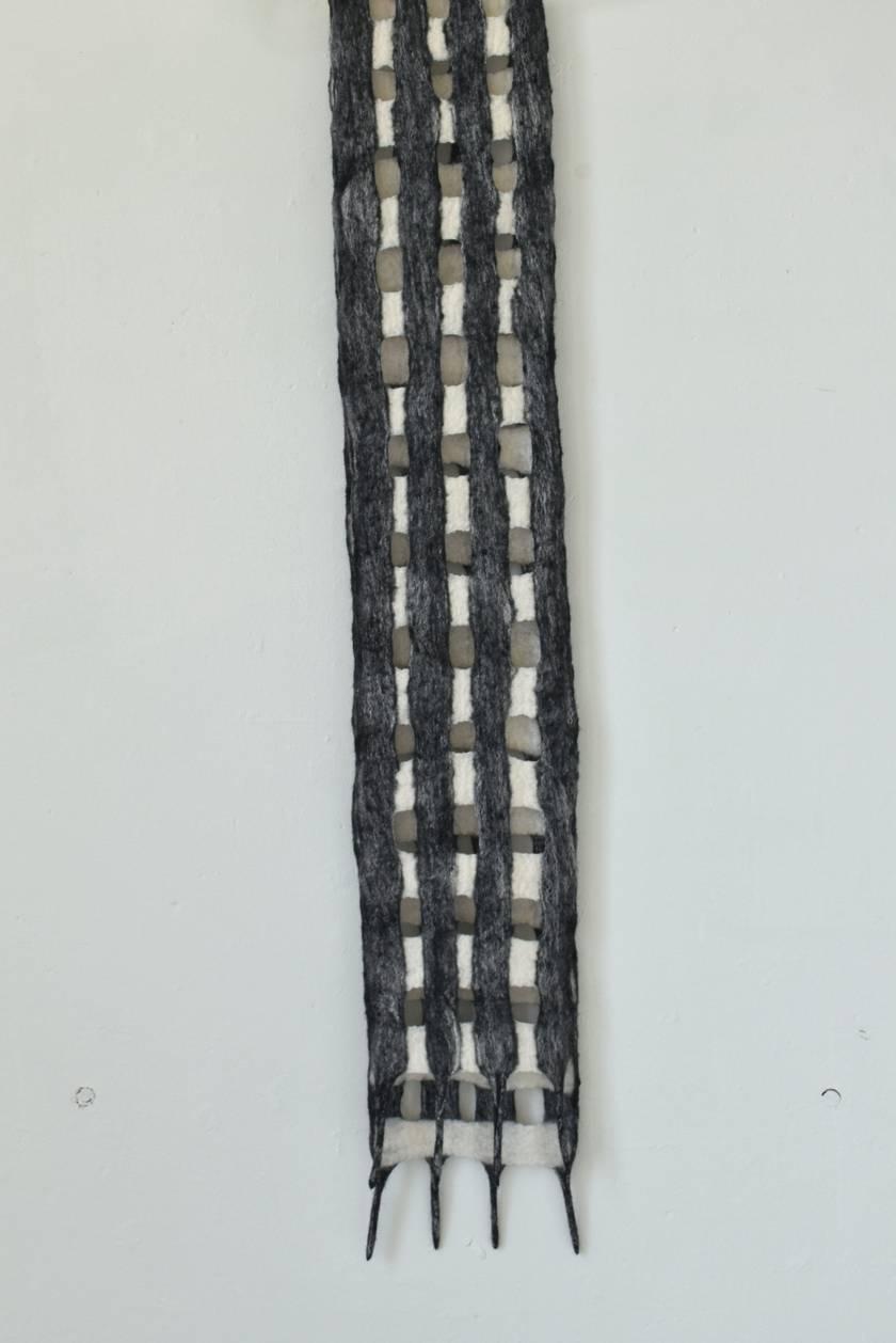 CUSTOM LISTING #306990 for ADRIAN  - Felted Merino Wool Scarf