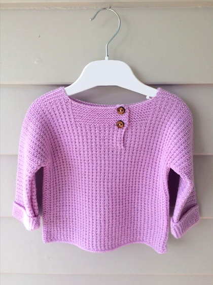Slouchy Spring Baby Jumper