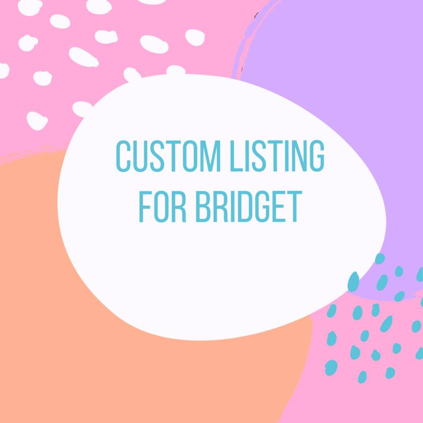 Custom listing for Bridget - Navy Cardigan