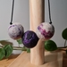 Wet Felted Necklace
