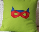 Chevron mask cushion cover