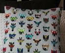 Masked Animals cushion cover