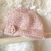 Pink Merino Baby Beanie