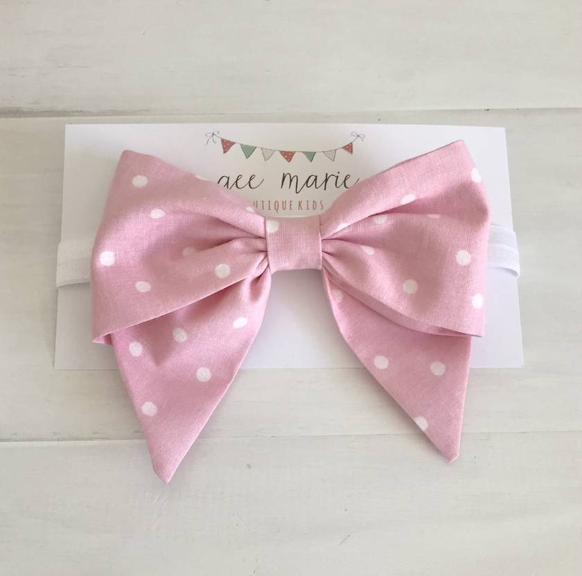 Candy Bow Headband