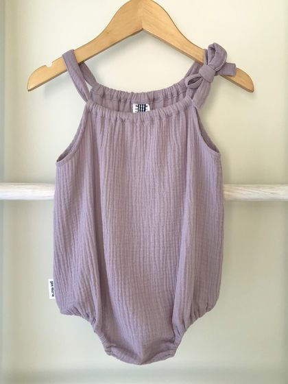 Holiday Romper Mauve Size 00