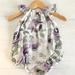 Lala Flutter Romper Lilac Size 0