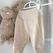 Merino Pants Size NB-3mths Vanilla