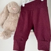 Merino Pants Size NB-3mths Red Current