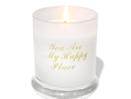 You Are My Happy Place - Glass Jar Candle - available in 8 scents