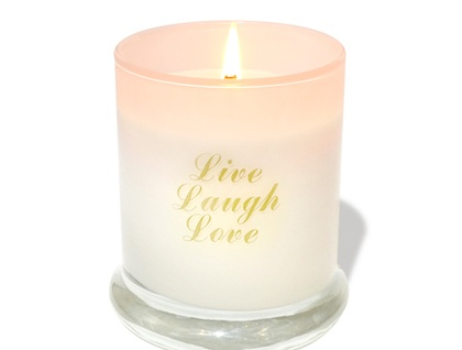Live Laugh Love - Glass Jar Candle - available in 8 scents
