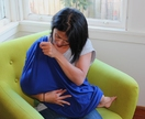 Breastfeeding Scarf and Capsule Cover - Grey or Royal Blue