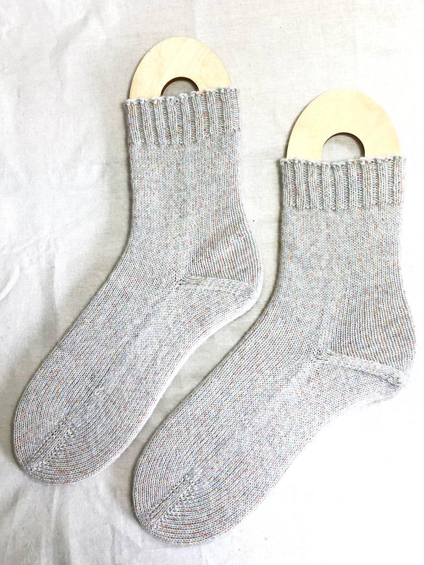 Handknit Men's Wool Socks