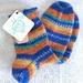 Handknit Women's Wool Socks