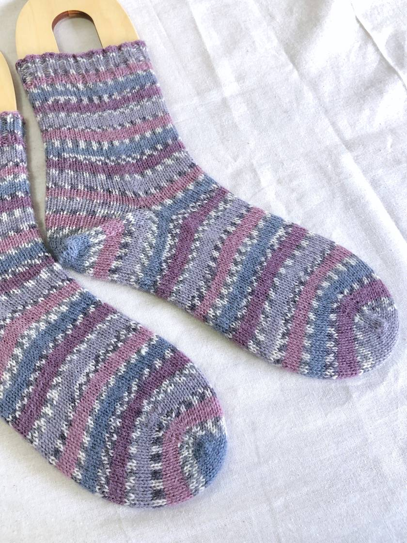 Handknit Women's Wool Socks