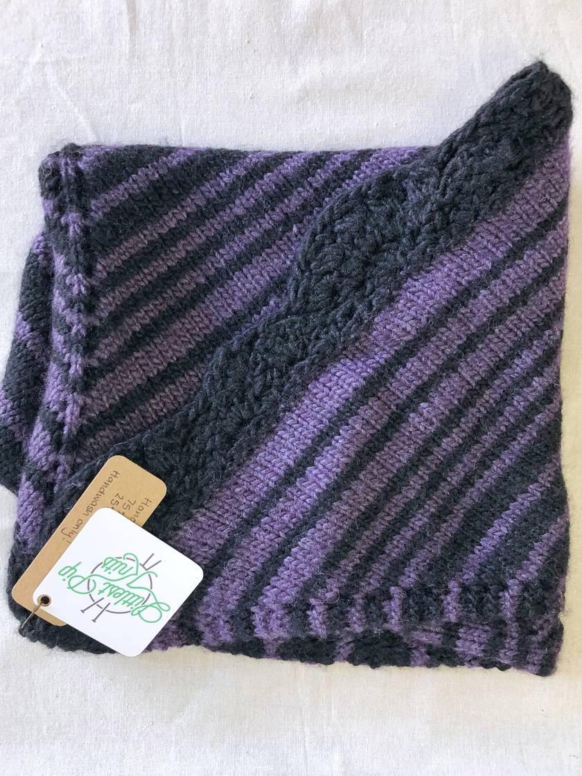Knitted Silk & Merino Shawl