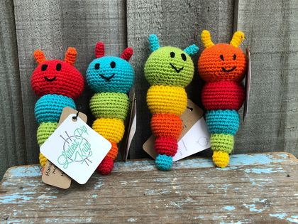 ** SALE - Was $30** Crochet Amigurumi Bug Toy