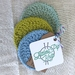 Crochet GOTS Certified Organic Cotton Reusable Make-up Remover Pad