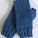 *SALE* Knit Alpaca & Wool Fingerless Mitts