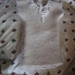 Hand Knitted Baby Singlet