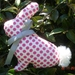 Cutest Pink Spotted Bunny