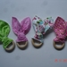 Wooden Ring Bunny Ear Teether - (4 patterns to choose from)