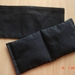 "Organic Flaxseed Eye Pillow - Great for Meditation & Yoga  "" GLUTEN FREE""  (Lavender optional)"