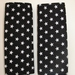 """Baby Seat Belt Covers/pads."""" STARS""""  - Great gender neutral fabric.  Only one set avaialble"""