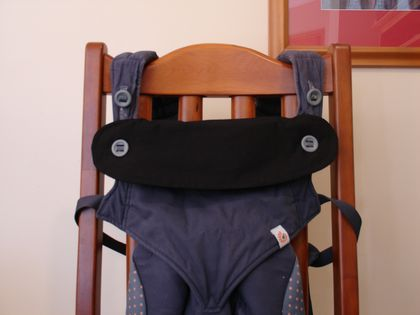 Drool Bib for Ergo 360 Baby Carrier - Just Black