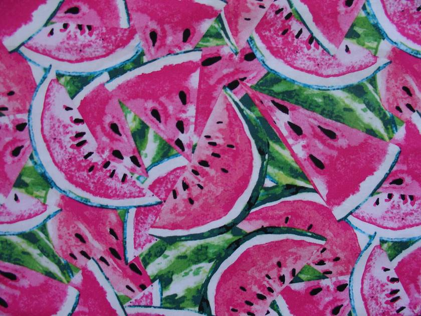 Child's Apron - size 2-3 years - Watermelon