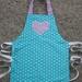 Child's Apron - size 2-3 years  Polka Dots
