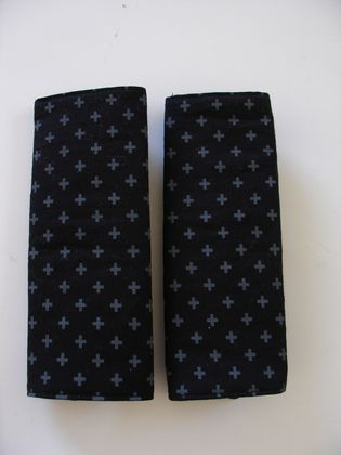 Child's Cotton seat Belt Covers/pads. (Great Gender Neutral fabric)