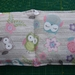 Kid's Organic Flaxseed Heat Pack - Owls (made from Flannelette)