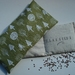 Organic Flaxseed & Lavender Eye Pillow with washable Cotton cover.