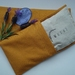 Wheat & Lavender filled Eye Pillow with Removable Cotton Cover.