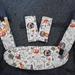 "Ergo360: Drool Bib, Drool Pads & Seat Belt covers set - ""Jungle animals"""